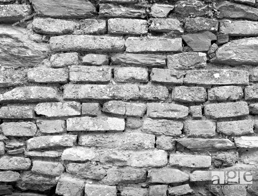 Stock Photo: Background texture of stone wall.