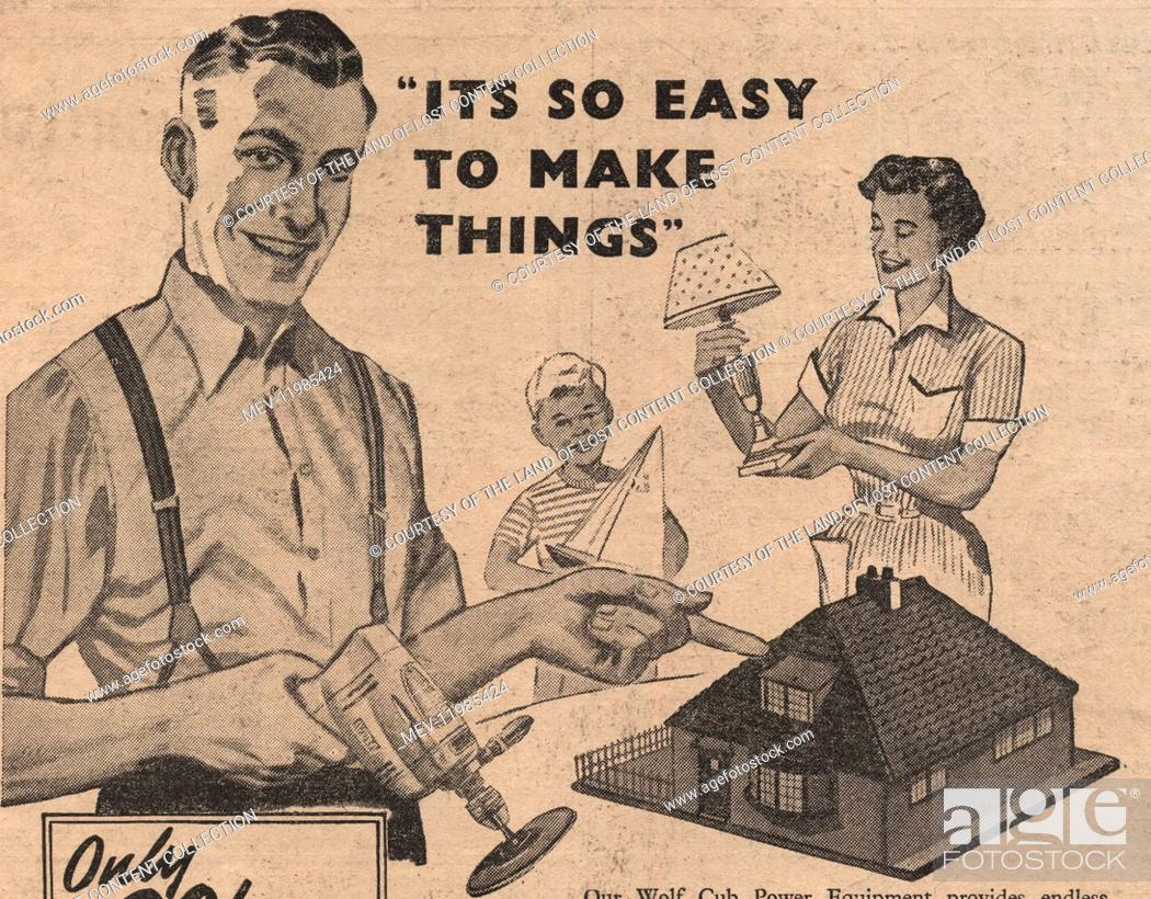 Practical Householder Jan 1956 - A popular father with