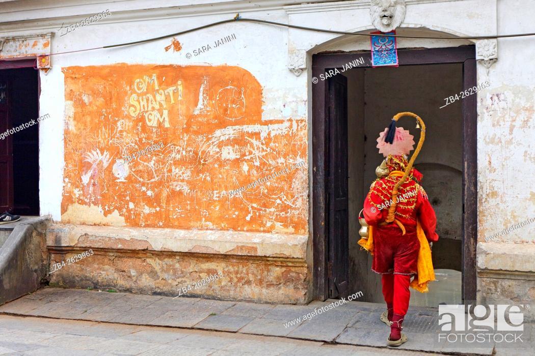 Stock Photo: Shadu, Pashupatinath Temple, Kathmandu, Nepal, Asia.