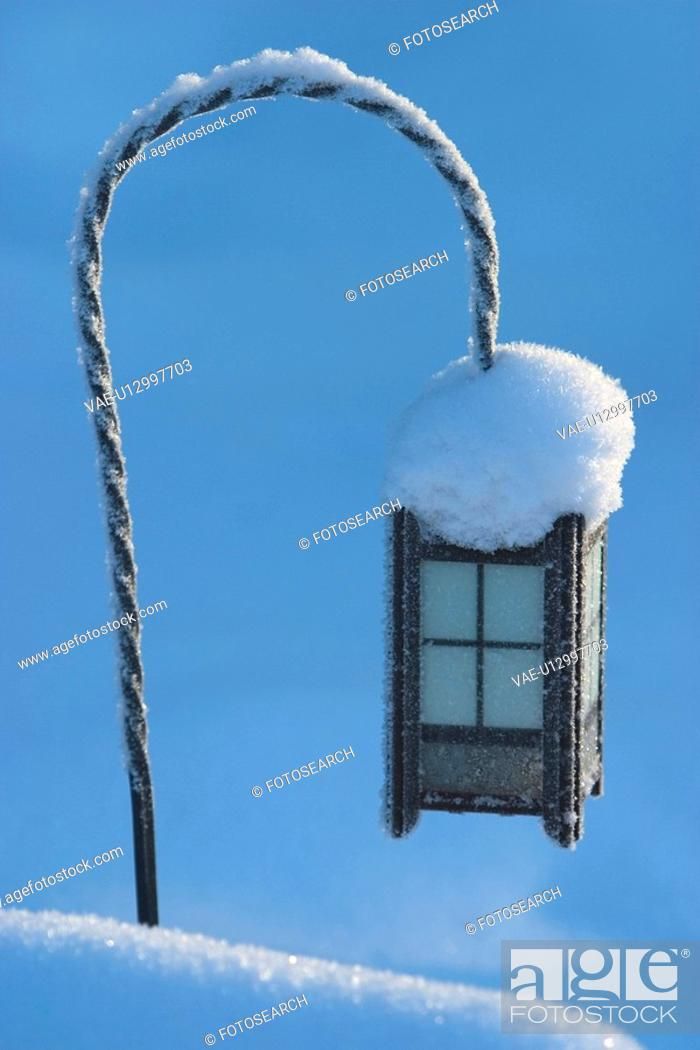 Stock Photo: outdoors, frost, day, white, peaceful, tranquil.