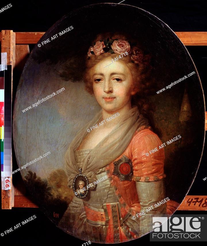 Portrait of Grand Duchess Alexandra Pavlovna (1783-1801