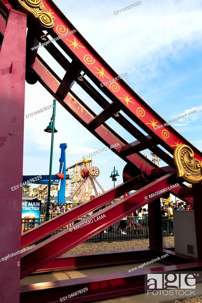 Imagen: Coney Island, the famous amusement park in Brooklyn.