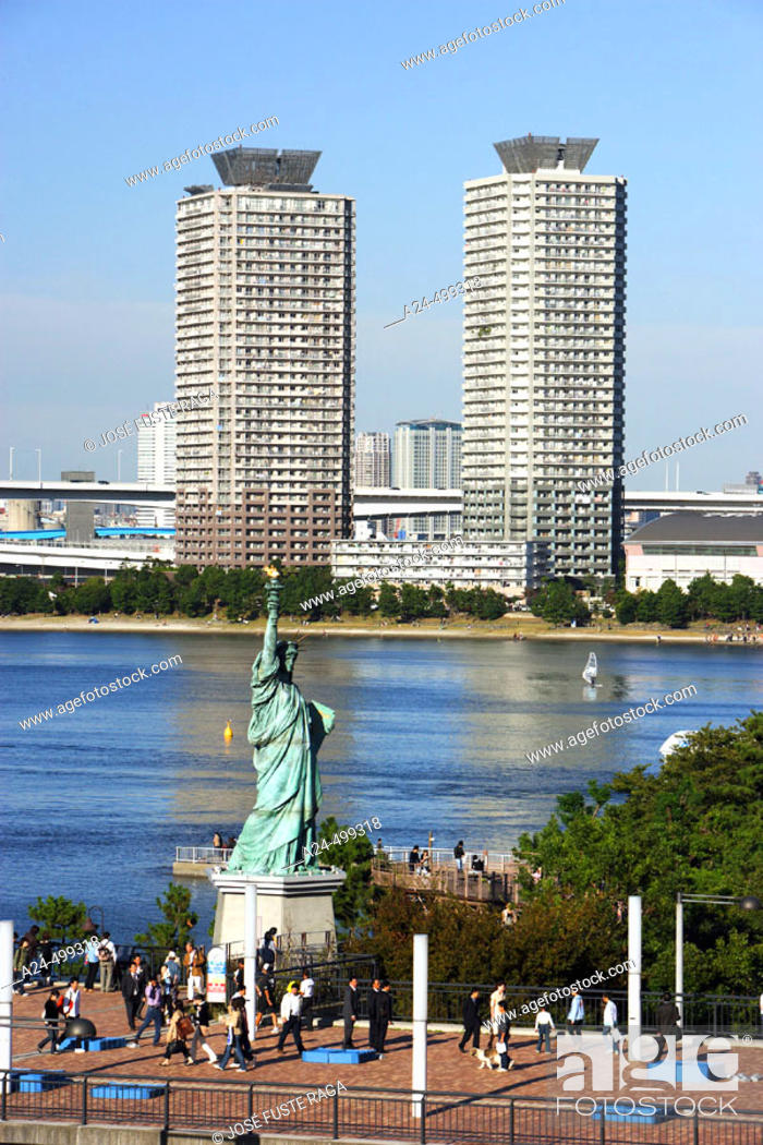 Stock Photo: Japan, Tokyo City, Odaiba District.