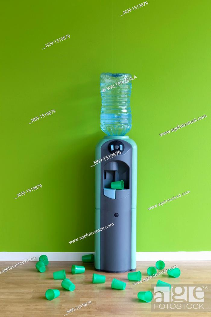 Stock Photo: Water cooler.