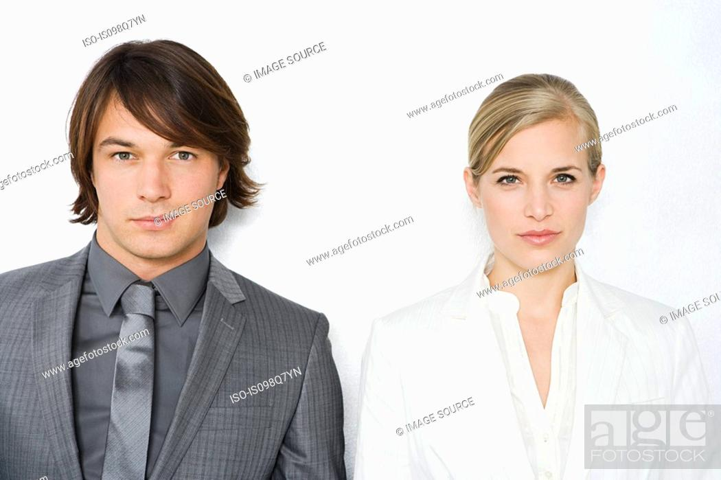 Stock Photo: Colleagues.
