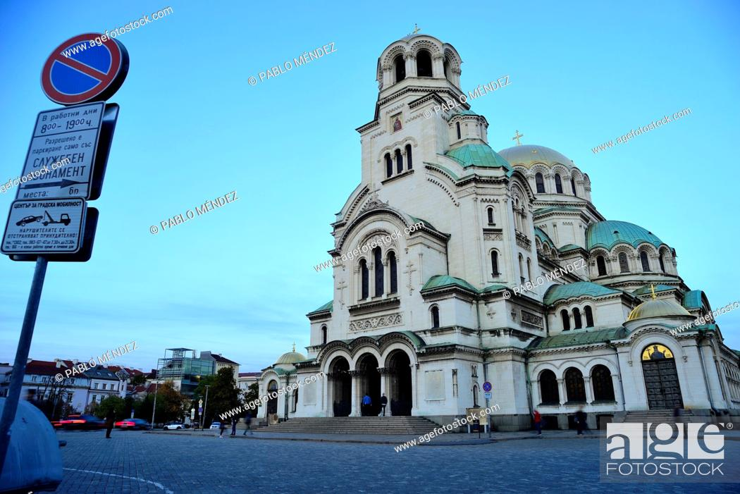 Imagen: Alexander Nevski cathedral-monument in Sofia, Bulgaria.
