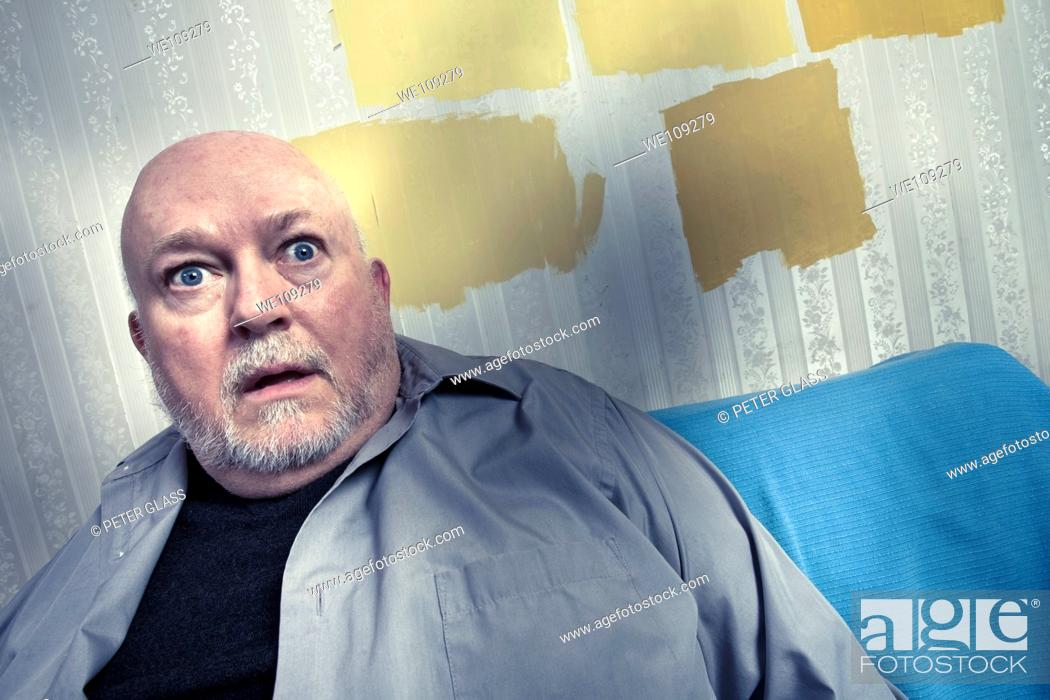 Stock Photo: Middle-age man.