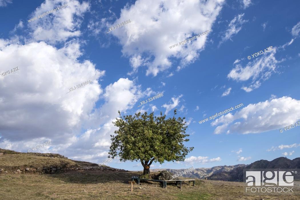 Stock Photo: Peru, Cusco, landscape.