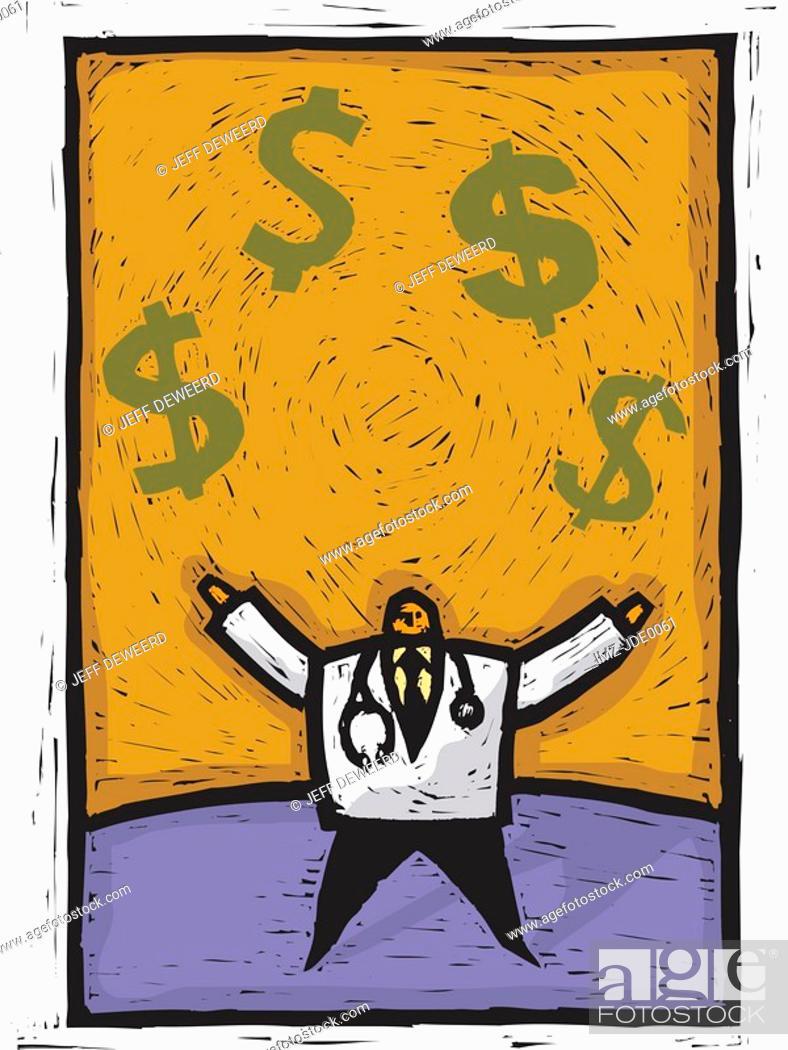 Stock Photo: Healthcare finances.