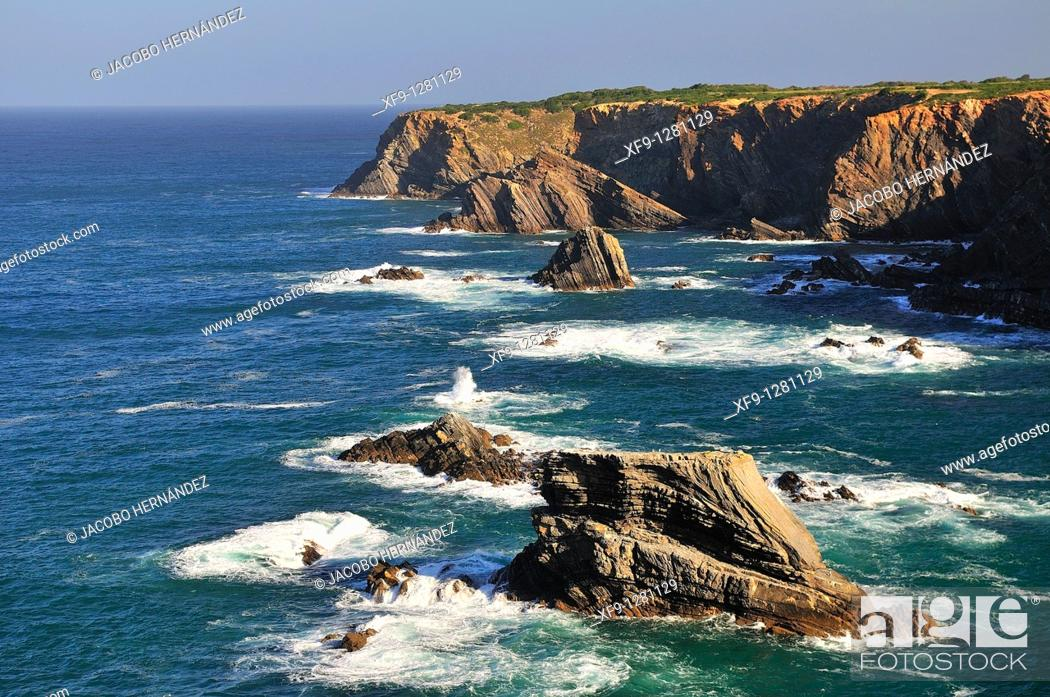 Stock Photo: Costa Vicentina. Alentejo. Portugal.