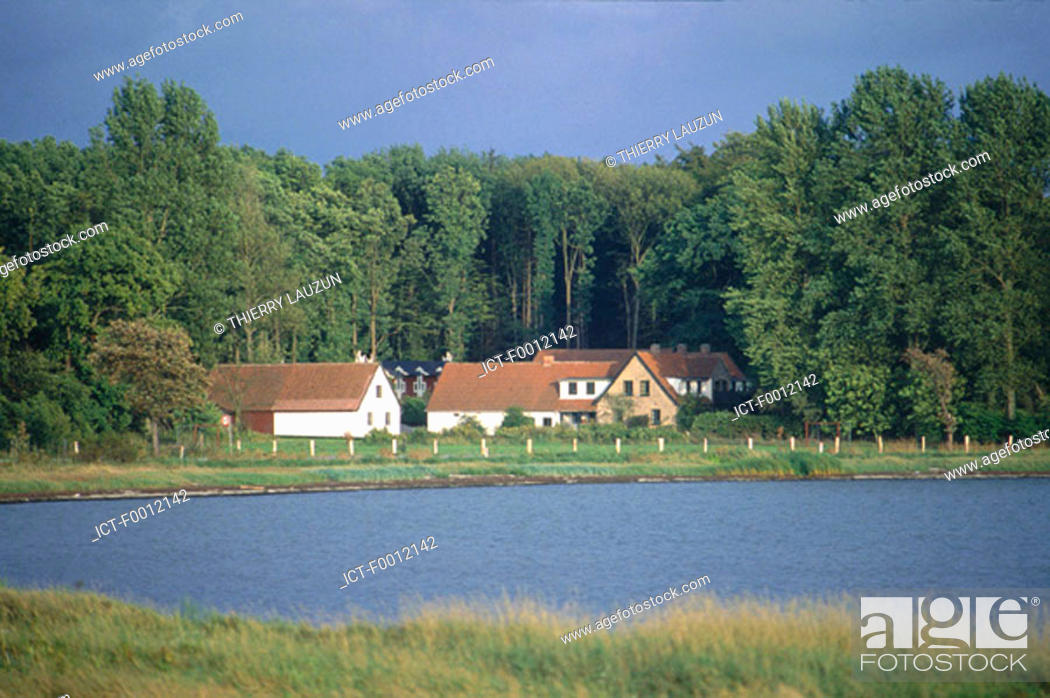 Stock Photo: Denmark, -rhus vicinity, near Ronde.