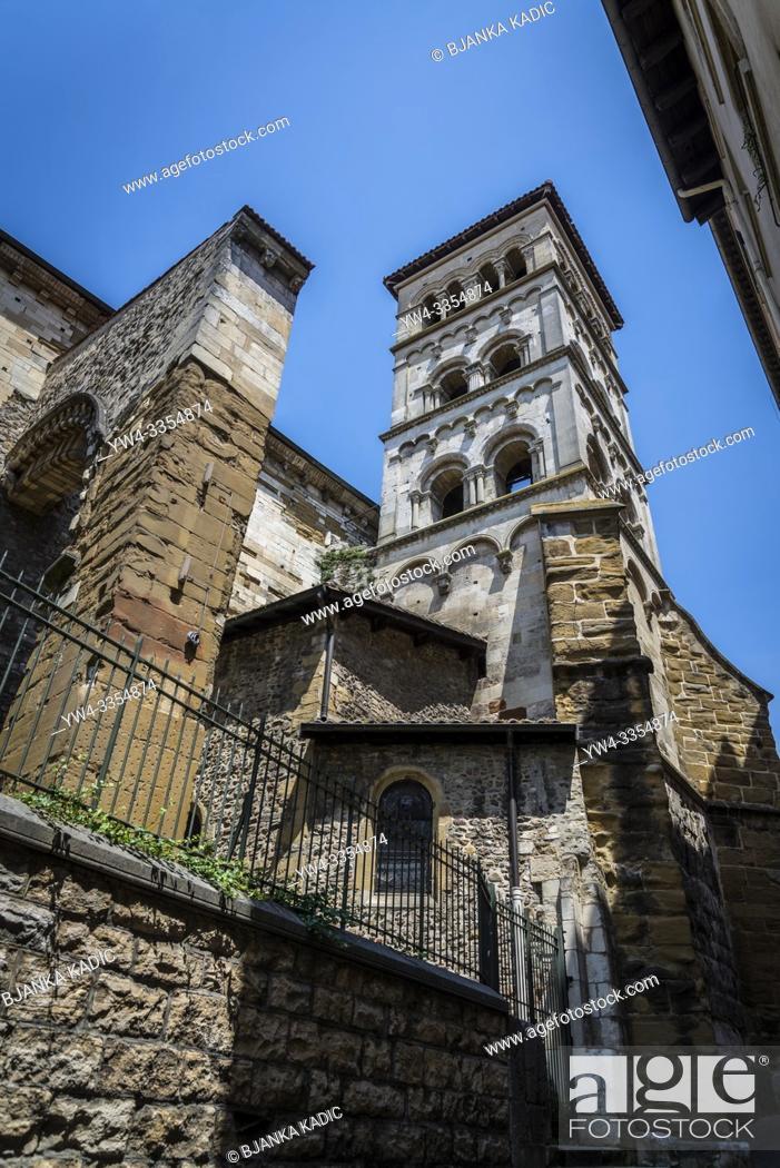 Photo de stock: Romanesque church of Saint-Andre-le-Bas, Vienne, France.