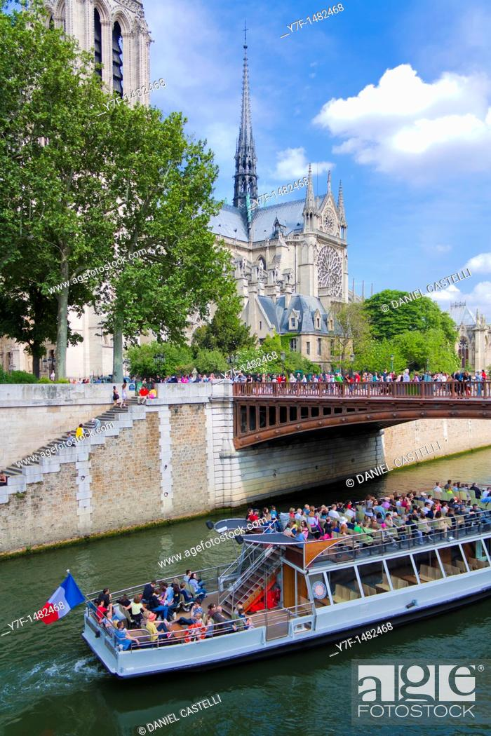 Stock Photo: Notre Dame cathedral,Paris,France.