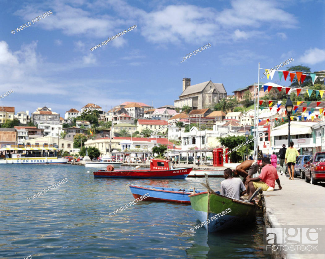 Stock Photo: St George's, Grenada, Caribbean.