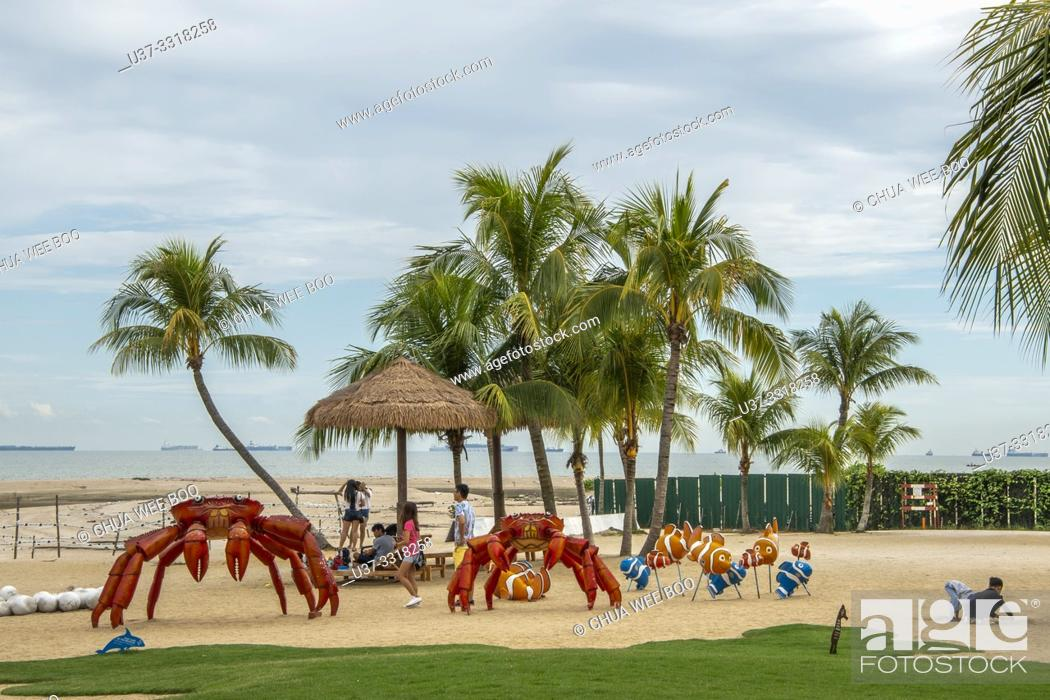 The Beach Front Of Forest City Phoenix International Marina Hotel Johor Bahru Malaysia Stock Photo Picture And Rights Managed Image Pic U37 3318258 Agefotostock