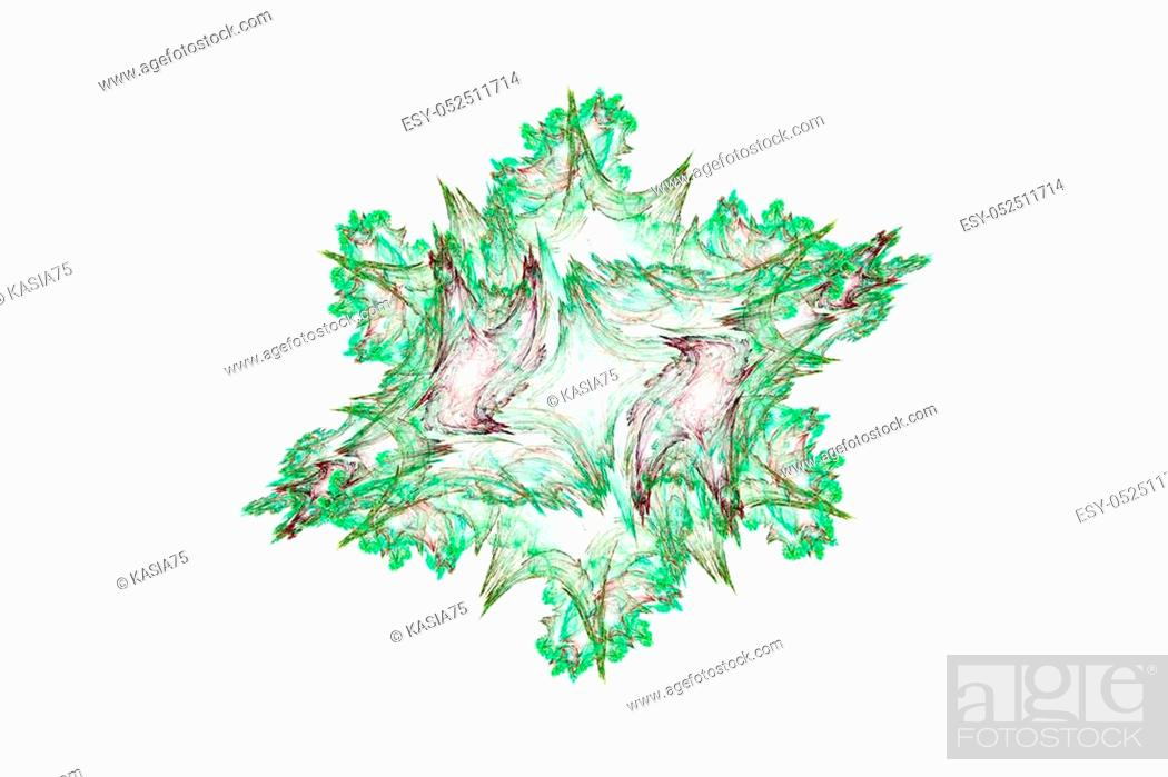 Stock Photo: Abstract illustration with high detail.