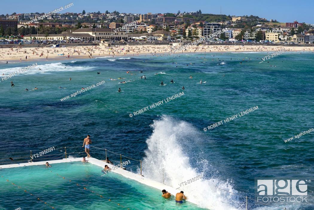 Stock Photo: Bondi Beach, Australia.