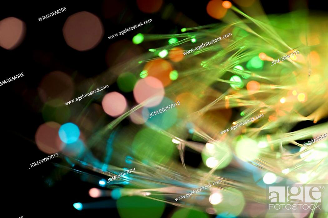 Stock Photo: Optical Fiber.