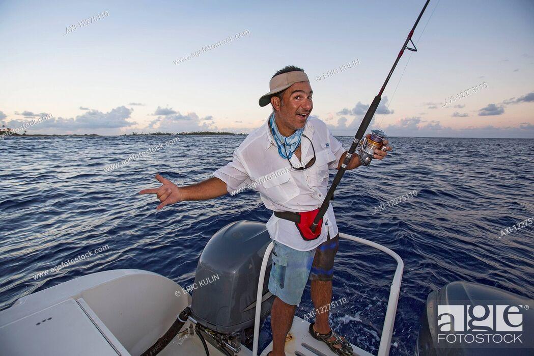 Imagen: Sports fishing; Tahiti.