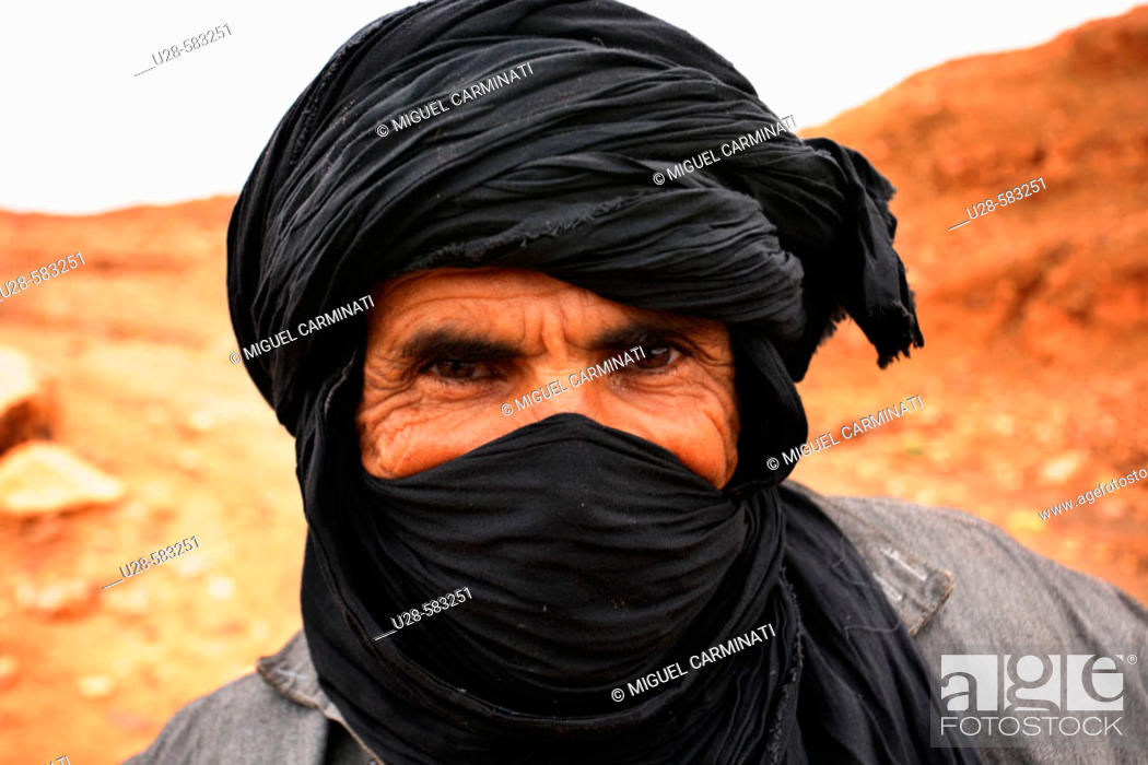 Stock Photo: Bedouin, Morocco.