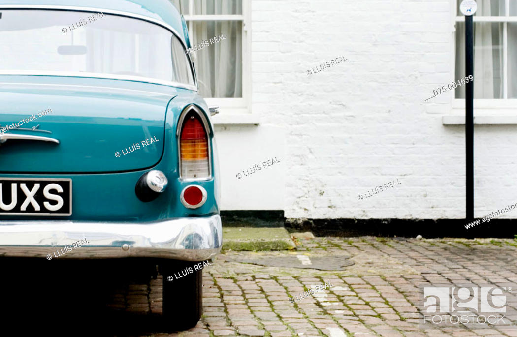 Stock Photo: Old and Vintage Cars.