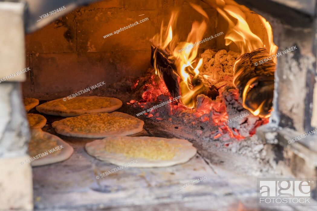 Stock Photo: Preparing old bread Posmodulja at Bled Days with Tastes Bled, Upper Carniola, Slovenia, Europe.
