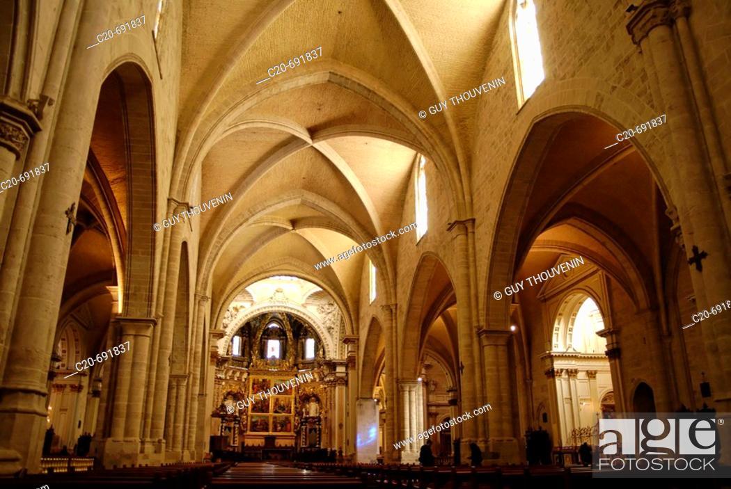 Stock Photo: Cathedral, Valencia. Comunidad Valenciana, Spain.