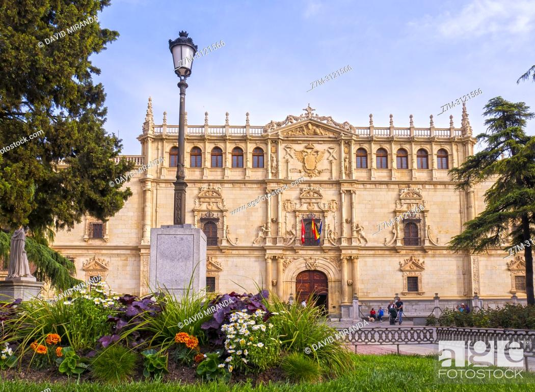 Imagen: Universidad de Alcalá de Henares. Madrid, Spain.