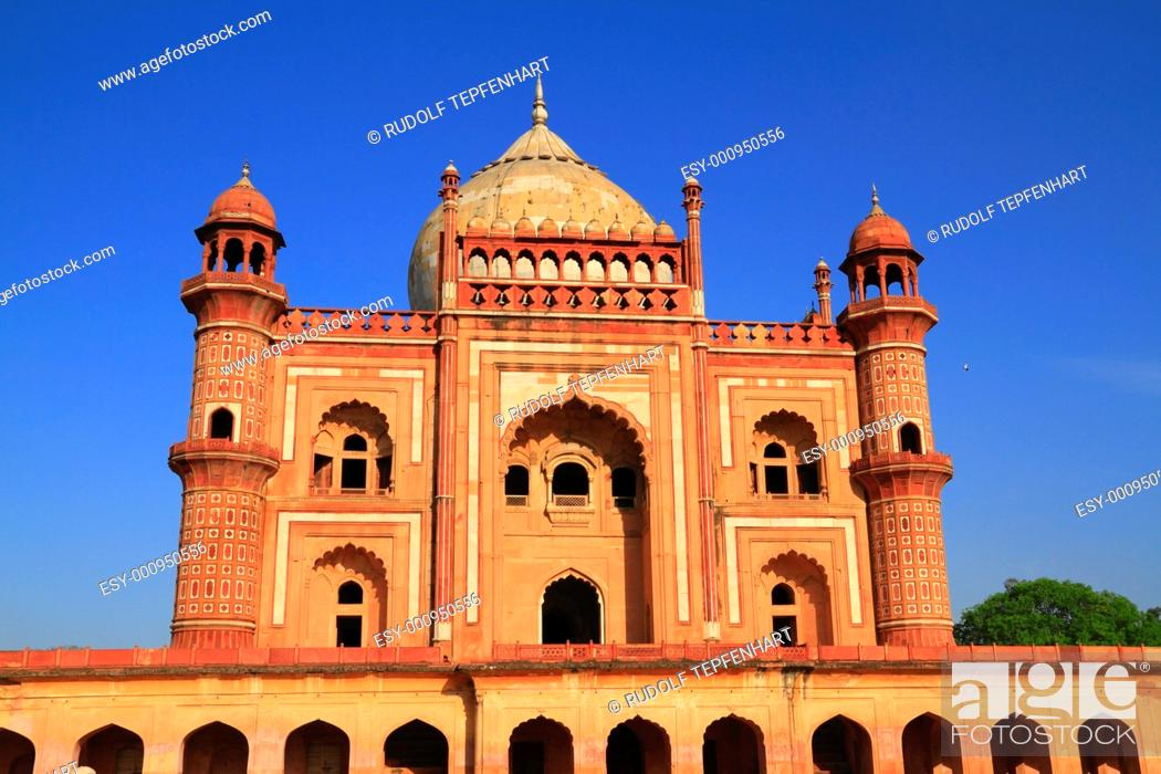 Stock Photo: Safdarjung's Tomb.
