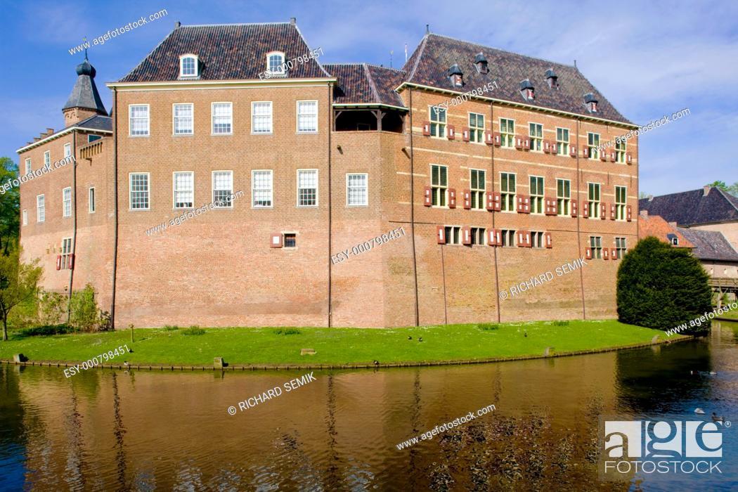 Stock Photo: Kasteel Huis Bergh, 's-Heerenberg, Gelderland, Netherlands.