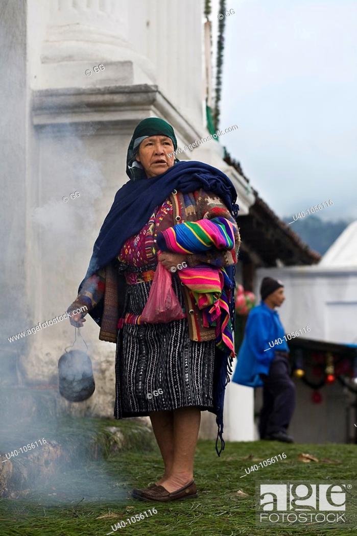 Stock Photo: Guatemala, Chichicastenango.