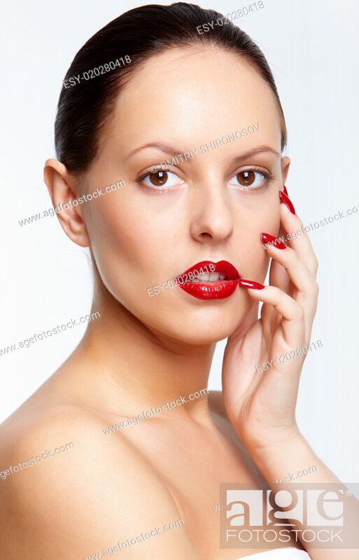 Stock Photo: Gorgeous model.