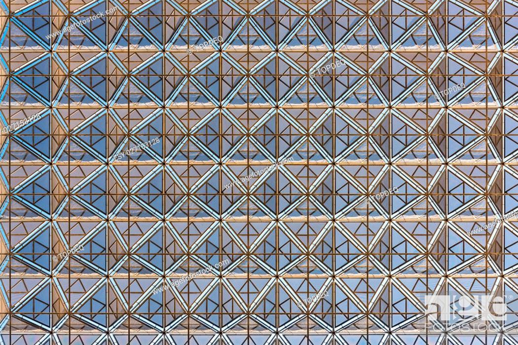 Modern Building Roof Geometric Design Background Horizontal Shot Stock Photo Picture And Low Budget Royalty Free Image Pic Esy 027153128 Agefotostock