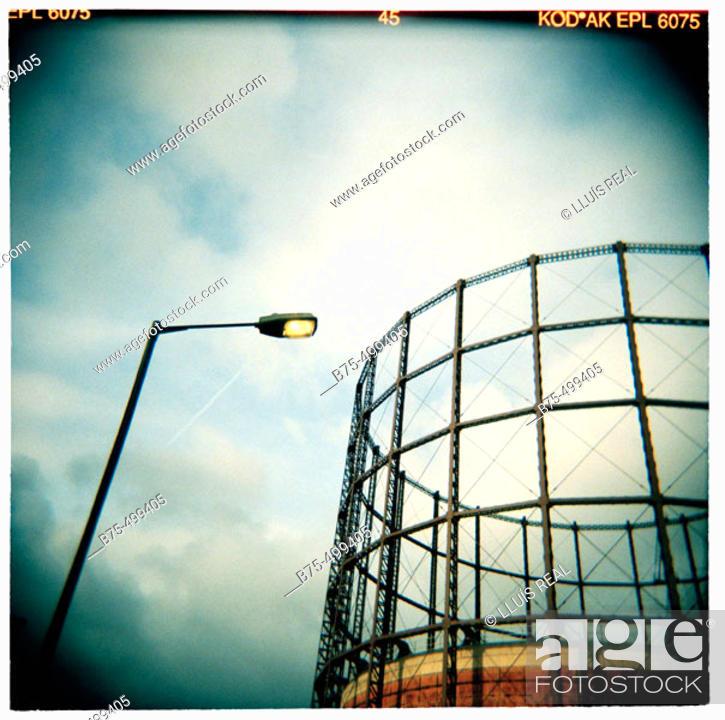 Stock Photo: London, East India, docklands. England, UK.