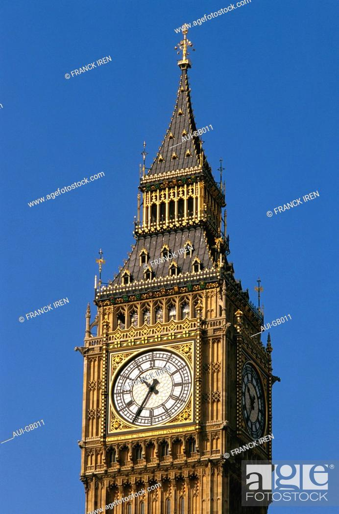 Stock Photo: Great Britain - London - Big Ben.