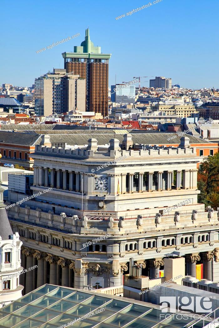 Imagen: Instituto Cervantes, Torres de Colón, Madrid, Spain, Europe.