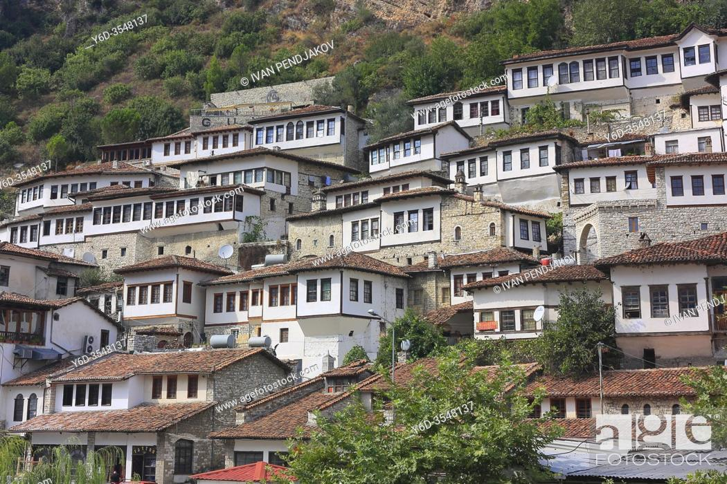 Stock Photo: Berat, Albania.