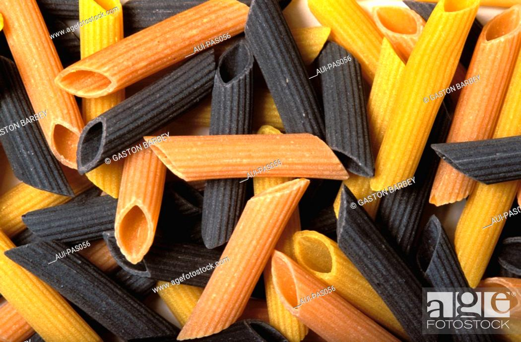 Stock Photo: Pasta - Pennes.
