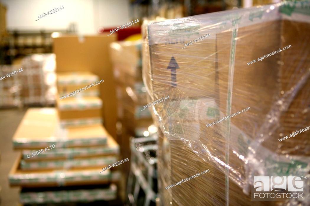 Stock Photo: warehouse.