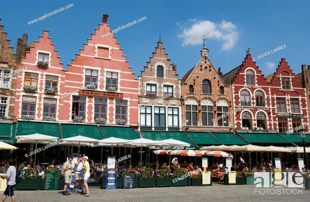 Stock Photo: Markt (Market Square). Brugge. Flanders, Belgium.