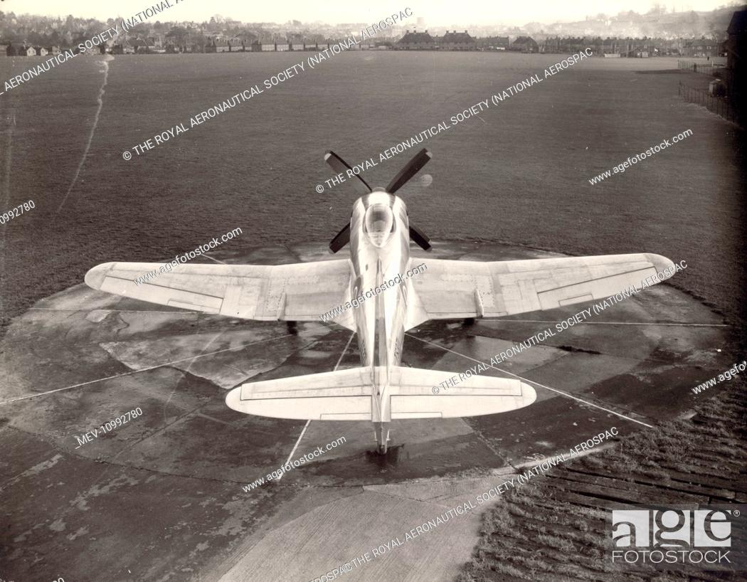 Stock Photo: Westland Wyvern TFMk1, TS371, the first prototype.