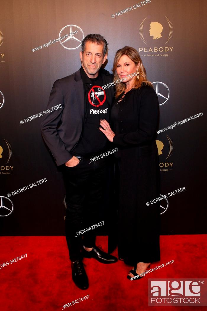 Stock Photo: The 77th Annual Peabody Awards, held at Cipriani Wall Street in New York City. Featuring: kenneth cole, Maria Cuomo Cole Where: New York City, New York.