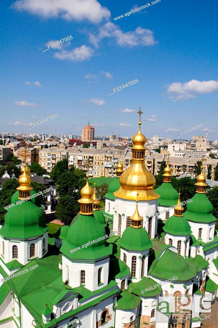 Stock Photo: St Sophia's Cathedral, Kiev, Ukraine.