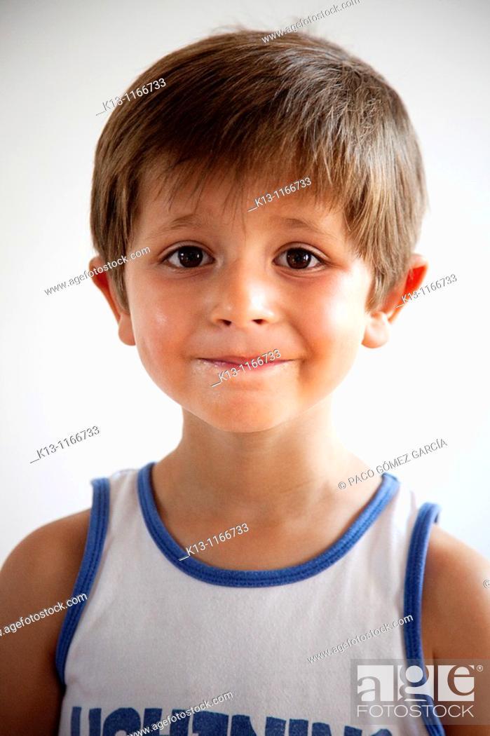 Stock Photo: Portrait of boy.