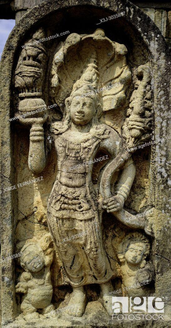 Imagen: Ruins of the ancient city of Polonnaruwa. Sri Lanka.