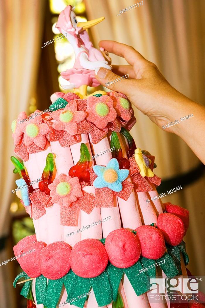 Imagen: Baptism Celebration Cake Daniela.