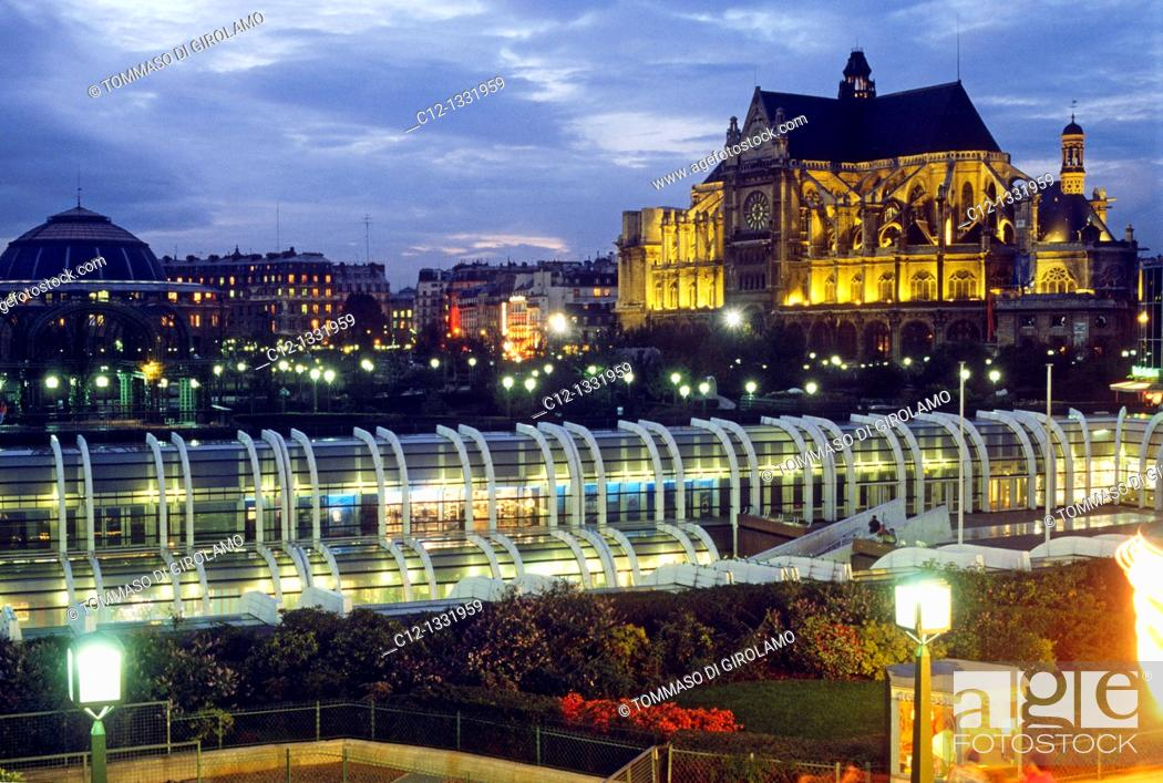 Stock Photo: Paris, Les Halles.