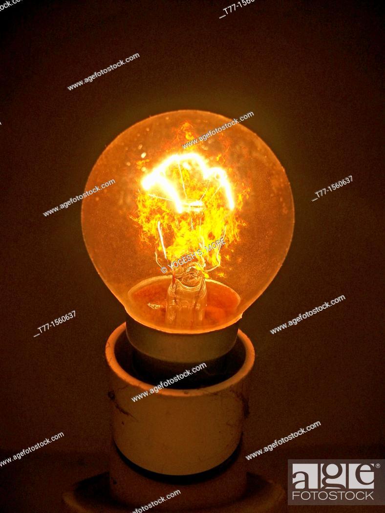 Stock Photo: Bulb.