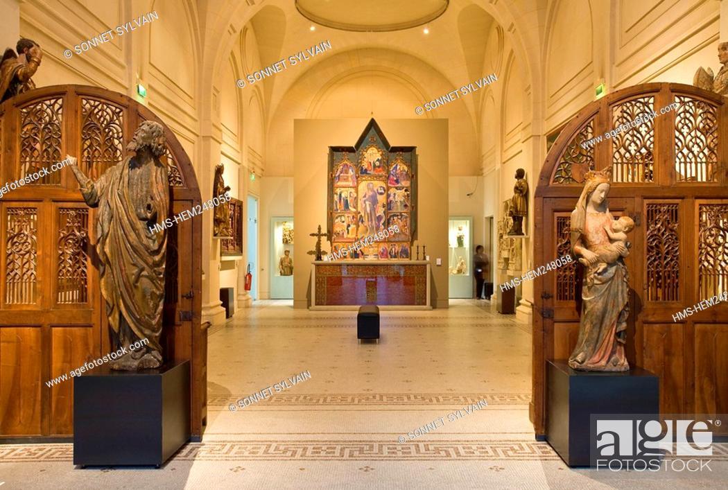 France, Paris, Musee des Arts Decoratifs Museum of Decorative Arts on