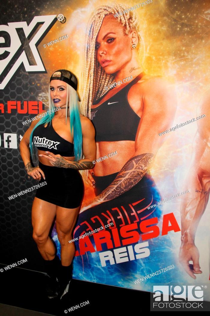 Celebrities attending the FIBO 2016 Featuring: Larissa Reis